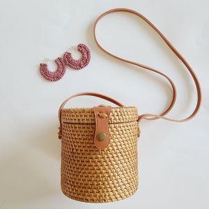Collection 18 handcrafted Rattan Wicker Handbag